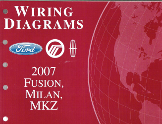2007 ford fusion mercury milan lincoln mkz wiring. Black Bedroom Furniture Sets. Home Design Ideas