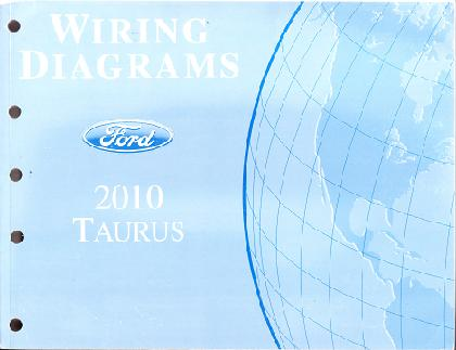 2005 ford taurus wiring diagrams 2010 ford taurus factory wiring diagrams manual 2010 taurus wiring diagrams #4