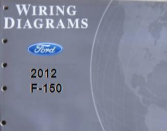 2012 ford f 150 truck factory wiring diagrams