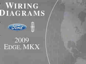 2009 ford edge and lincoln mkx factory wiring diagrams. Black Bedroom Furniture Sets. Home Design Ideas
