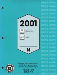 2001 pontiac grand am repair manual