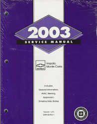 2003 impala repair manual