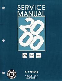 2000 gmc sonoma repair manual