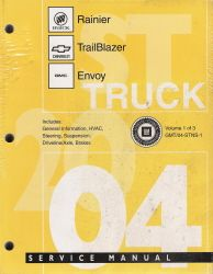 2004 Chevrolet Trailblazer Ext Gmc Envoy Xl Olds Bravada border=
