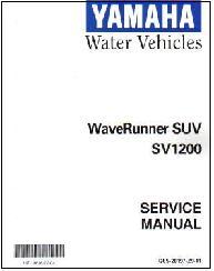 1999 2004 yamaha suv1200 waverunner factory service manual. Black Bedroom Furniture Sets. Home Design Ideas