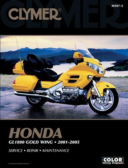 2001 2010 honda gl1800 gold wing clymer service repair. Black Bedroom Furniture Sets. Home Design Ideas