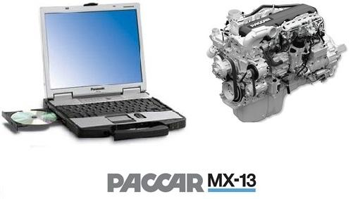 PACCAR Davie4 MX-11 & MX-13 Engine Software on Panasonic Toughbook