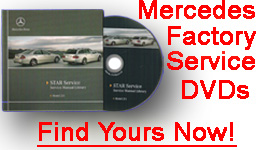 Mercedes Factory Service Manuals on DVD-Rom
