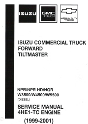 1999 2001 chevrolet gmc isuzu npr npr hd nqr w3500. Black Bedroom Furniture Sets. Home Design Ideas