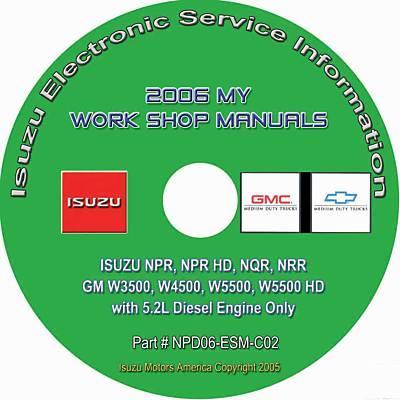 gmc w series diesel engine manual 2006