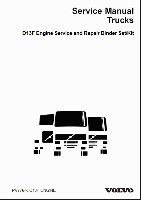 volvo truck d13f engine service and repair manual 2. Black Bedroom Furniture Sets. Home Design Ideas