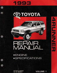 toyota 4runner factory service manual