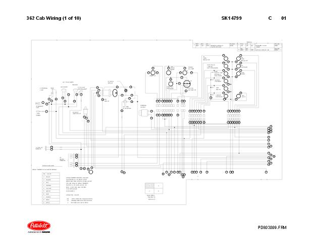 1867 - 1987 Peterbilt 359 Complete Electrical Wiring DiagramsAuto-Repair-Manuals.com