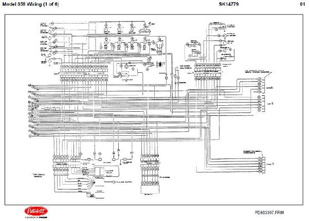 detroit diesel ddec ii engine electrical wiring diagrams DDEC V Wiring Diagram