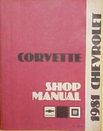 Chilton corvette factory auto repair manual