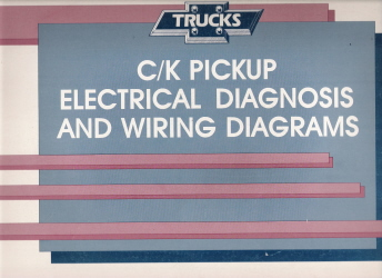 1990 chevrolet gmc c k pickup electrical diagnosis wiring diagrams. Black Bedroom Furniture Sets. Home Design Ideas