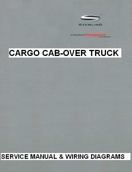 2003 sterling sterling cargo cab-over factory service manual & wiring  diagrams on sterling truck throttle position
