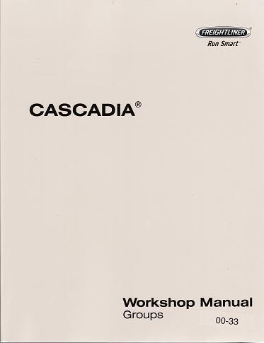 Cascadia service manual