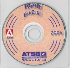 Toyota, Volvo A40 Series Transmission (A41, A40D, A43D, etc) ATSG