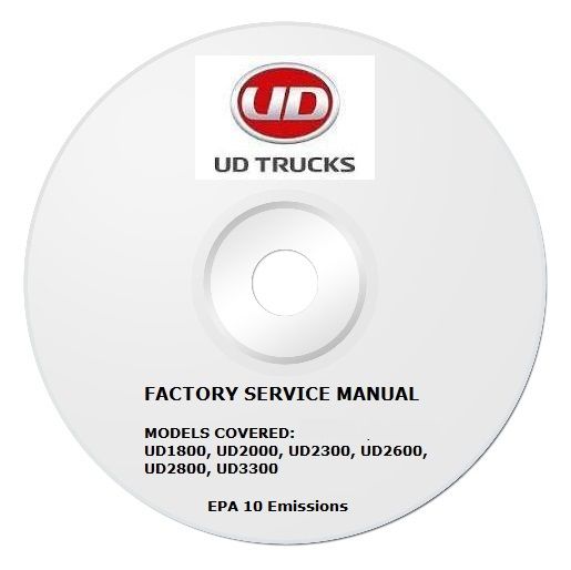 2011 2013 ud ud1800 thru ud3300 truck factory service. Black Bedroom Furniture Sets. Home Design Ideas