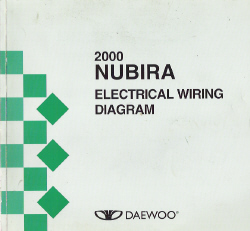 2000 daewoo nubira factory wiring diagram manual. Black Bedroom Furniture Sets. Home Design Ideas