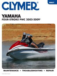 2002 2009 yamaha four stroke personal watercraft shop manual. Black Bedroom Furniture Sets. Home Design Ideas