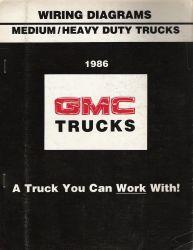 1986 Chevrolet / GMC Medium / Heavy Duty Truck Wiring ...