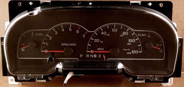 1999 TO 2003 FORD WINDSTAR INSTRUMENT CLUSTER REPAIR