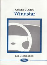 ford windstar owners manual