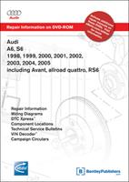 1998 2005 audi a6 s6 rs6 repair manual dvd rom. Black Bedroom Furniture Sets. Home Design Ideas