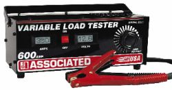 Associated 600 Amp Carbon Pile Battery Load Tester, Digital AOE-6039