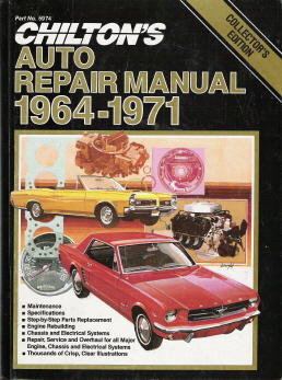 1964 1971 chilton s collector series  auto repair manual 2980 X Weight System Manual chilton heavy duty truck repair manual