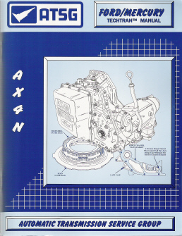 ford ax4n transmission atsg rebuild manual softcover rh auto repair manuals com AX4N Common Problems AX4N Pan