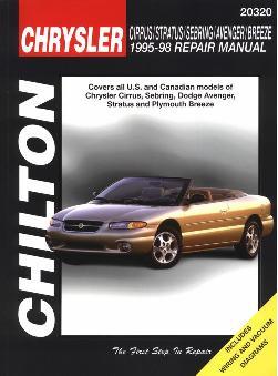 1995 1998 Chrysler Dodge Cirrus Stratus Sebring Avenger