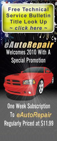 Online eAutoRepair Main Product Page
