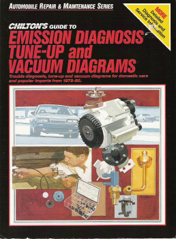 1979  1980 Chilton s    Guide       to Emission       Diagnosis     TuneUp and Vacuum    Diagrams
