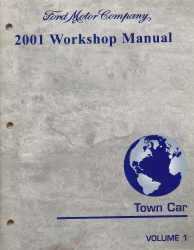 2001 lincoln town car workshop manual. Black Bedroom Furniture Sets. Home Design Ideas