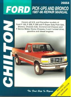 vintage edition 1987 1996 ford f150 f250 f350 super duty pick rh auto repair manuals com 1987 ford f150 manual transmission fluid 1987 ford f150 manual locking hub