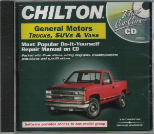 1982 1999 Gm Trucks Vans Suvs Chilton Repair Manual