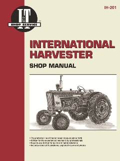 international harvester i t tractor service manual ih 201. Black Bedroom Furniture Sets. Home Design Ideas