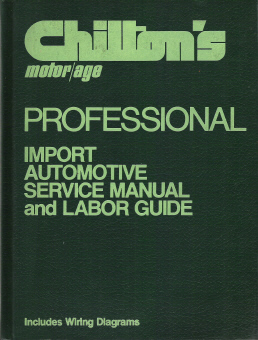 Auto Repair Labor Guide on 1973   1979 Chilton S Import Service Manual   Labor Guide