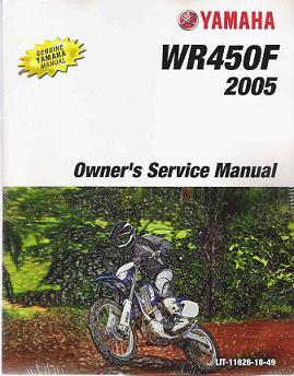 2005 yamaha wr450f factory service repair manual. Black Bedroom Furniture Sets. Home Design Ideas