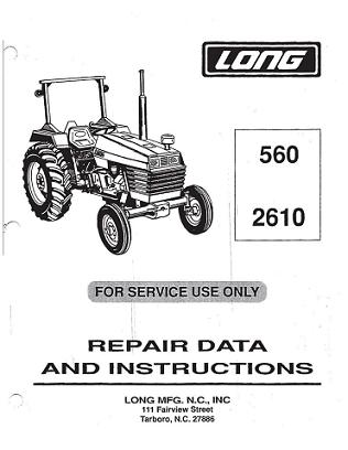 long tractor engine diagram long 560, 2610 tractor service manual farmall cub tractor engine diagram