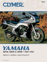 1981 1992 yamaha xj550 xj600 fj600 clymer repair manual. Black Bedroom Furniture Sets. Home Design Ideas