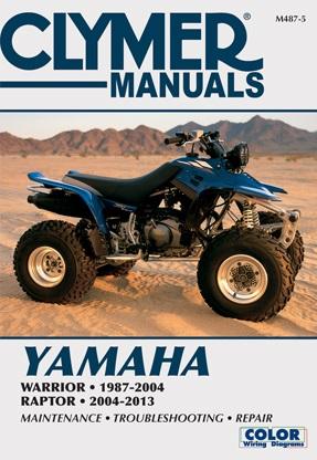 Yamaha Raptor  Assembly Manuel