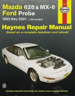 1993 2002 mazda 626  mx 6   ford probe  haynes repair manual free 2002 mazda miata owners manual free 2002 mazda miata owners manual