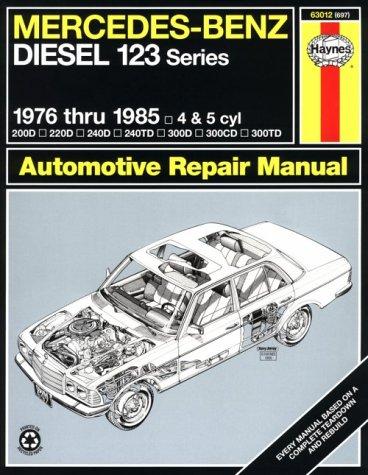 1976 1985 mercedes benz diesel 123 series haynes repair for Mercedes benz workshop manuals