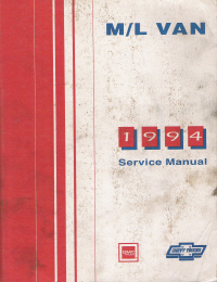 1994 chevrolet gmc m  l vans astro   safari factory service manual 94 GMC Safari Pimp 94 GMC Safari Tiara Coach