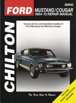 Chilton Ford Mustang Repair