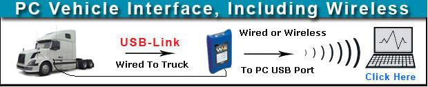 Nexiq USB-LINK / WVL2 connects Truck to PC Wired or Wireless